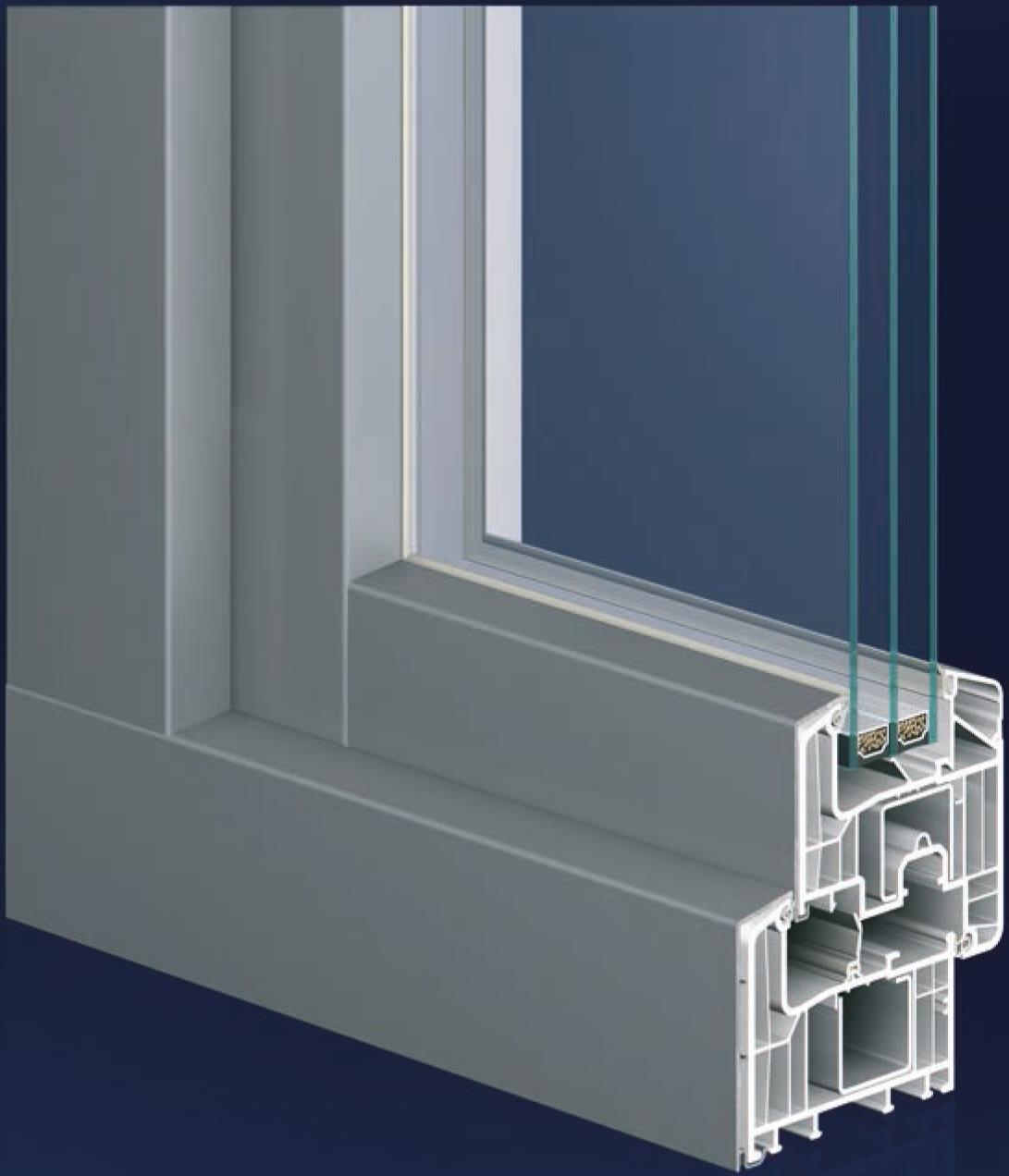 Fenster system eforte neunkirchen fensterbau - Fenster schallschutzklasse 6 ...